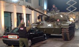 alquiler tanque M-41 soldiers atrezzo, Carro de combate M-41 soldiers atrezzo